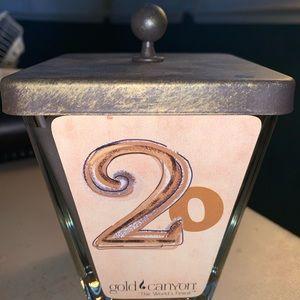 20 Twenty Gold Canyon Candle